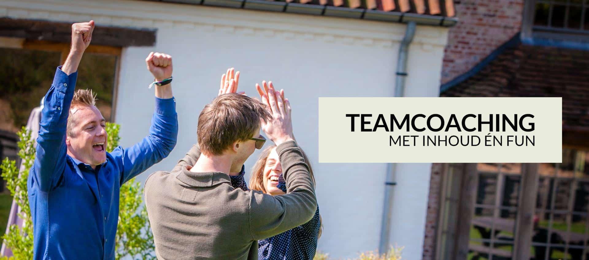 teamcoaching met inhoud + fun